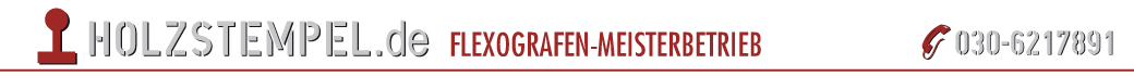 Holzstempel.de Meisterbetrieb